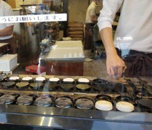 梅ケ谷餅 焼き