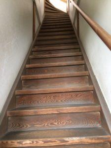 松島城階段