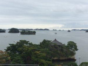 松島城からの景色