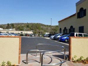 一般道駐車場