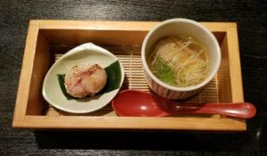 スープと手毬寿司
