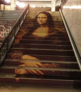 モナリザ階段