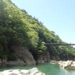 虹見の滝の橋