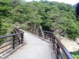 虹見の滝の入り口