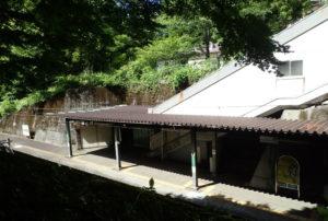 龍王峡の駅ホーム