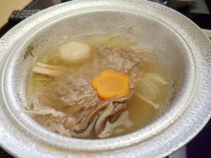 飛騨牛の牛鍋