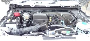 シエラのエンジン