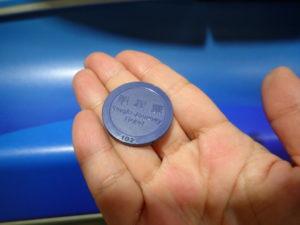 MRT地下鉄切符
