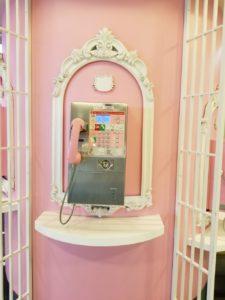 キティちゃんの電話機