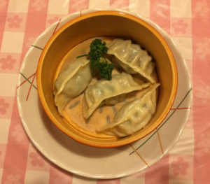 健太餃子の4種蒸し餃子