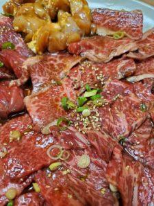 焼肉 香里苑 肉