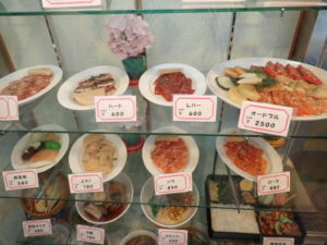 焼肉 香里苑 食品サンプル